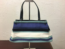 Gorgeous Authentic SALVATORE FERRAGAMO Top Handle Bag with Leather Accents