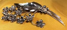 Vintage Antique Fine Sterling Silver By Legro Bobby Pin/Clip Hair Accessory