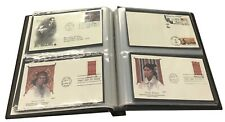 Fdc Album Showgard Us #6 First Day Covers Binder Luggage Tan Brown New 894