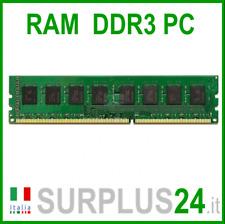 Memoria RAM 4GB DDR3 (1x4GB) PC3-12800U 1600Mhz 1,5v 240 pin DDR3 No Ecc