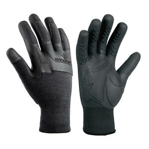 Polyco Mad Grip Gloves MADGRIP Knitted Liner Knuckle Protection Size 9 Large