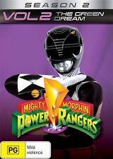 Mighty Morphin Power Rangers: The Green Dream - Season 2 - Vol 2 DVD NEW