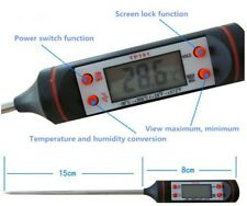 Digital Kitchen Probe Thermometer Food Cooking BBQ Meat Steak Wine Water. 02