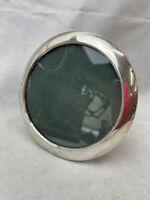 "Vintage Sold Silver Photo Frame. Birm 1917. 6"" Across"