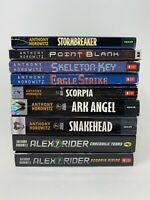 ALEX RIDER Series Lot of 9 (#1-9) Anthony Horowitz Set Paperback Books  Ages 10+