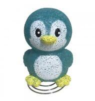 Blue Penguin Lamp - Childrens Boys Bedroom Nursery Kids Night Light - Nite Lite