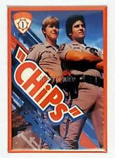 "CHiPs TV Show 2"" x 3"" Fridge Magnet Art Vintage 70's & 80's nostalgia"