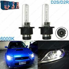 2x Xenon HID 6000K D2S D2R Headlight Bulbs OEM Direct Replacement Light Bulbs