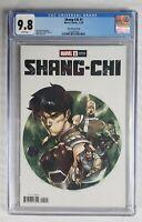 Shang-chi #1 Dike Ruan Variant - CGC 9.8 - Marvel Comics 2020 kung fu book