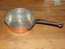 casserole  en cuivre étamé