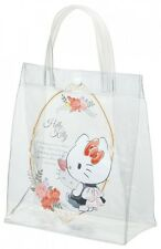 Skater clear tote bag lunch back Hello Kitty KBV1 Sanrio