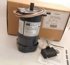 DAYTON 23L391 PSC Motor with Elect-Mag Brake - 220V - 1650 RPM - 1P - CW/CCW