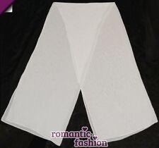 ♥Chiffonstola passend für jedes Brautkleid in Weiß oder Creme+NEU+SOFORT+PL9014♥