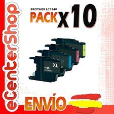 10 Cartuchos LC1240 NON-OEM Brother MFC-J430W / MFCJ430W 24H