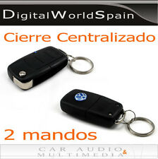 CIERRE CENTRALIZADO 2 MANDOS 1 MOTOR MAESTRO + 3 ESCLAVOS.ELIJE LOGO DE TU COCHE