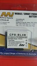 Mobile Phone Battery Nokia BL-4B equivalent - BNIB