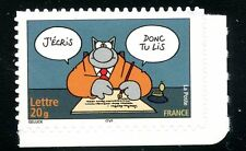 STAMP / TIMBRE FRANCE  N° 3828 ** SOURIRES / LE CHAT / PHILIPPE GELUCK
