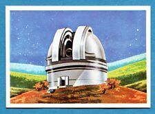 LA TERRA - Panini 1966 - Figurina-Sticker n. 6 - TELESCOPIO -Rec