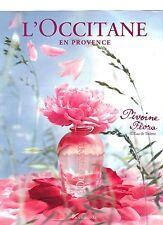 PUBLICITE 2011 L'OCCITANE en Provence pivoine flora
