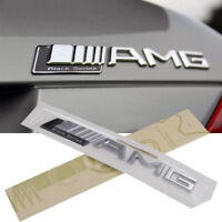 Black Series ABS 3D AMG Badge Decal Chrome Sticker Emblems For All Series