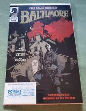 BALTIMORE/CRIMINAL MACABRE FCBD (2011 Dark Horse) Free Comic Book Day