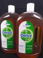 Large 1500 ml / 1.5 Liter Dettol Liquid antiseptic Detol ( 2 X 750ml ) -DHL Ship