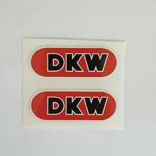 2 Aufkleber DKW Tanklogo * Typ 110 * Typ 111* Moped * Oldtimer * Set