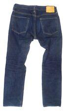 SIMON MILLER 'M002' Straight Los Angeles Marine Blue Denim Jeans Size 30