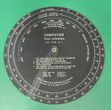 US ARMY AIR FORCES TYPE G-1 TRUE AIRSPEED COMPUTER