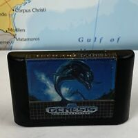 SHIPS SAME DAY Ecco the Dolphin Sega Genesis 1992 Cart Only Tested