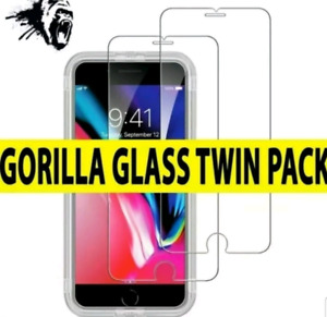 For iPhone 6 7 8 X Max 11 Pro Premium Quality Tempered Glass Screen Protector
