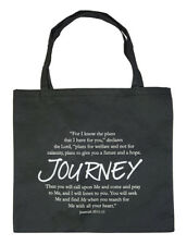 Religious Spiritual Quote Inspiration Tote Bag Know the Plan I have ... Bible