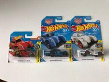 Hot Wheels Volkswagen Kafer Racer Bundle 1x Red, 1x Blue, 1x White