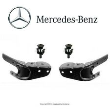 Mercedes W209 CLK GENUINE Set of Lower Headlight Supports + Upper Radiator Pins