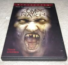 Zombie Nation DVD *RARE *HORROR *HALLOWEEN