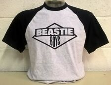 Beastie Boys Grey/Black  Baseball T-Shirt