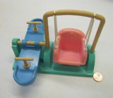 """FISHER PRICE Loving Family Dollhouse TEETER TOTTER SWING See Saw 3-6"""" Dream #1"""
