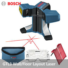 Bosch GTL3 WallFloor Covering Tile and Square Layout Laser