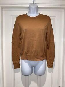 Ladies ZARA Fine Knit Jumper Size S UK 10