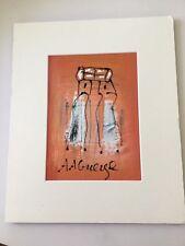 Peinture africaine  - Signée AA Gueye
