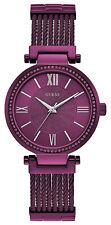 Guess W0638L6 Soho Purple Dial Purple Stainless Steel Bracelet Women's Watch