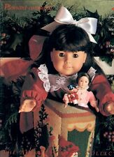 1992 RETIRED PLEASANT COMPANY CATALOG! SAMANTHA CHRISTMAS COVER! OURNEW BABY