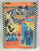 Tyco Crash Dummies Racing Telescoping Dent Figur / Mint on sealed Card 1994