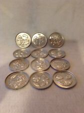 Incredible Edible (Lot of 12) Round 1966 Mattel Molds