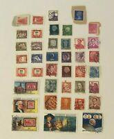 Stamps Lot Mixed Collection Magyar Posta Belgium Liberia Espana Nederland India