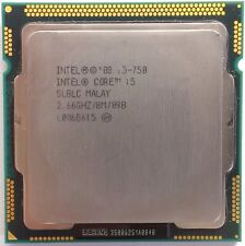 Intel Core i5 750 fucilieri Quad-Core 4x 2.66 GHz LGA 1156 95w slblc