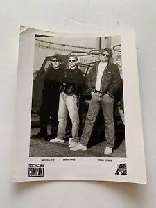 Bad Company Band Press Kit Photo Black And White B&W 8 X 10