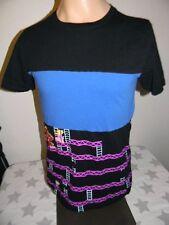 retro vtg style DONKEY KONG all over print t shirt men's M NINTENDO