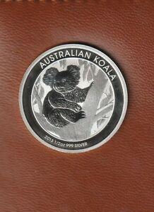 2013 Koala 1/2 oz .999 Fine Silver - Coin in Plastic Capsule