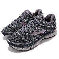Brooks Adrenaline GTS 17 Metallic Charcoal Black Rose Women Running 1202311 B